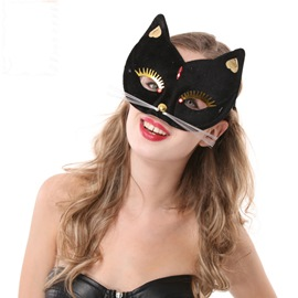 Sexy Fox Halloween Half Face Kitty Masks