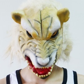 Realistic Latex Wolf Terror Halloween Mask