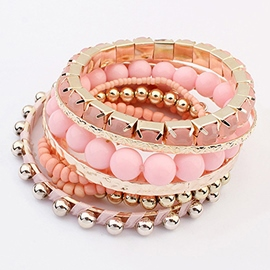 Cute Beads Bohemia All-matched Bracelet