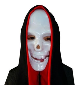 Halloween Ghost Face Terrorist Vampire White Mask