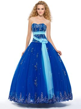 Ericdress Admirable Sweetheart Beaded Puffy Ball Gown Quinceanera Dress