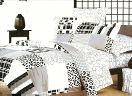 Ericdress Decorous Stripes Circle 4-Piece Bedding Sets