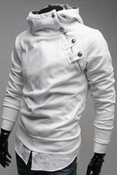 Ericdress Stand Collar Cool Hoodie