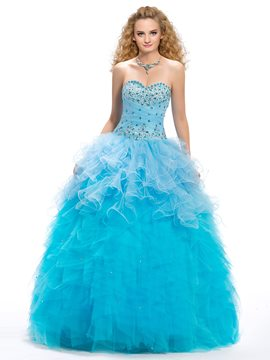Sweetheart Floor Length Quinceanera Dress