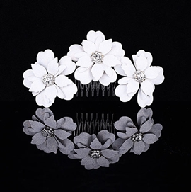 Pretty Euro-america Flowers Alloy with Rhinestone Wedding Tiara