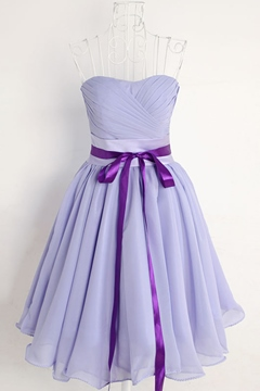 Ericdress Pretty Sweetheart Short Chiffon Bridesmaid Dress
