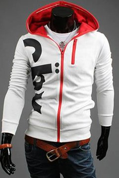 Korean Leisure Personalized Printing Men's Hoodie