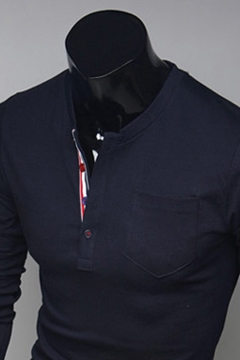 Round Neck Men's Shirt