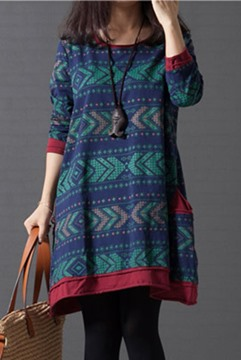 Ericdress Pocket Casual Dress