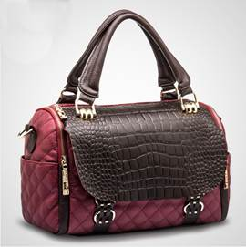 Newest Vogue OL Croco Handbags