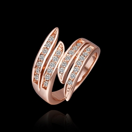 Ericdress Golden Annular Ring For Women