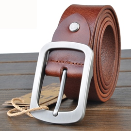 Ericdress All Match Men's Cowhide Belt