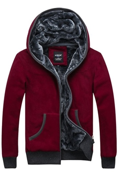 Solid Color Cotton Cool Hoody