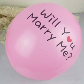 Will You Marry MeBallon Wedding Decoration(100pcs)