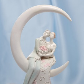 Romantic Moment Wedding Cake Topper