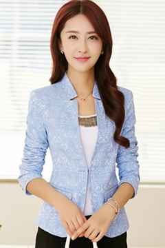Ericdress Korean Lace Slim Blazer