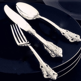 Luxurious Silverware European Style Serving Sets