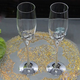 Ericdress schöne Sweetheart Toasten Flutes(2 pieces one Set)