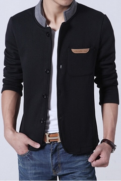 Korean Casual Stand Collar Jacket
