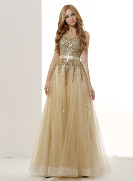 Exquisite Sweetheart A-Line Floor-Length Prom Dress
