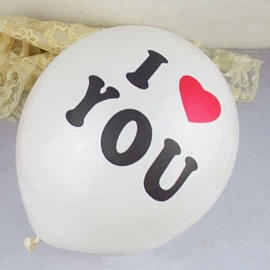 I Love You Ballon Wedding Decoration
