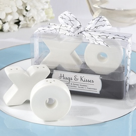 Adorable Wedding Favor XOXO Seasoning Pots