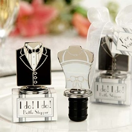 Special Bride And Groom Bottle Stoppers