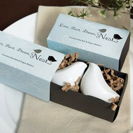 Adorable Wedding Favor Peaceful Dove Seasoning Pot