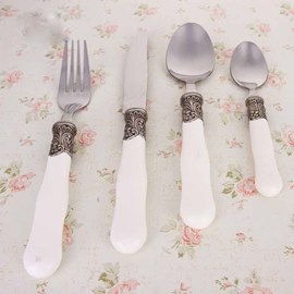 Personalized Metal Handle Serving Sets