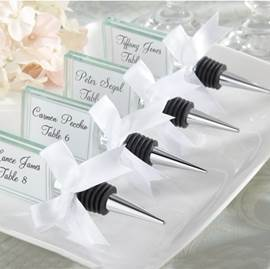 Personalize Crystal Square Bottle Stoppers