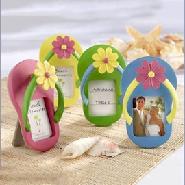 Adorable Slipper Shape Four Colors Photo Frame(4 Pieces)