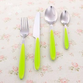 Top-level Fluorescent Green Serving Sets
