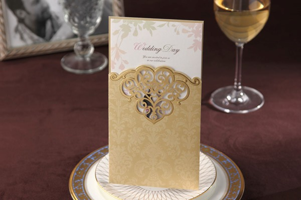 Personalized Card Paper Wedding Invitation (20 Pieces One Set)