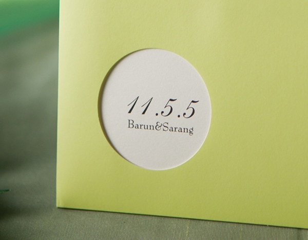 Classic Wrap & Pocket Invitation Cards With Ribbons (20 Pieces One Set)