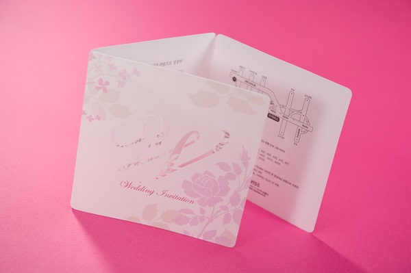 Classic Flat Card Invitation Cards (20 Pieces One Set)