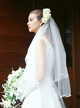 Double Layer Wedding Veil