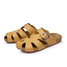 Ericdress Cut Out Strap Buckled Men's Slippers