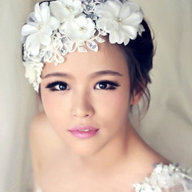 Ericdress Charming Lace Hair Flower