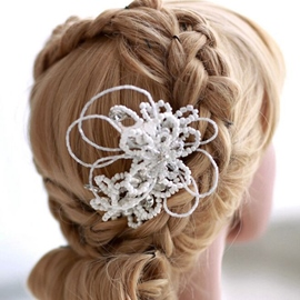 Ericdress Comely Hair Flower with Comb