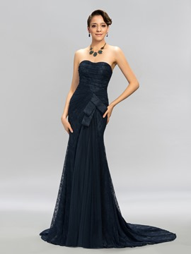 Sweetheart Floor-Length Mermaid Evening Dress