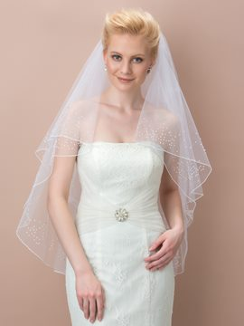 Pretty White Bridal Veil