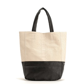 Ericdress Leisure Patchwork Color Block Tote Bag