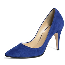 Hot Selling Solid Color Pointed Toe Pumps