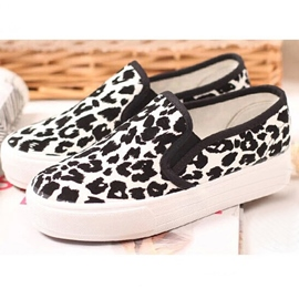 Leopard Patchwork Slip-On Flats