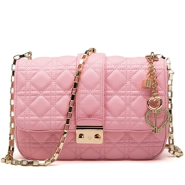 Argyle Mental Chain Shoulder/Crossbody Bag