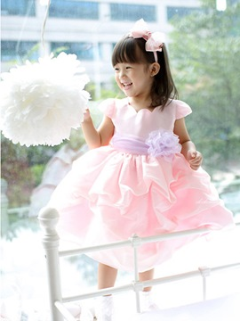 Ericdress Short Sleeve Girl's Dress