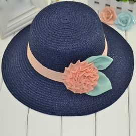 Ericdress Cute Ladylike Flower Decorated Sunhat