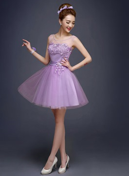 Ericdress Superb Jewel Neck A-Line Short Prom/Homecoming Dress