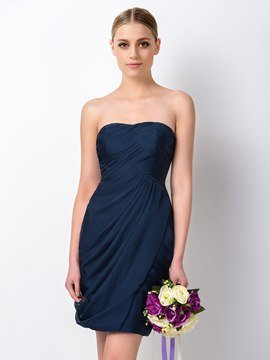 Ericdress Pretty Sheath Sweetheart Short Bridesmaid Dress