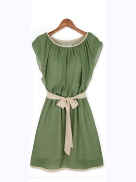 Ericdress Green Casual Dress